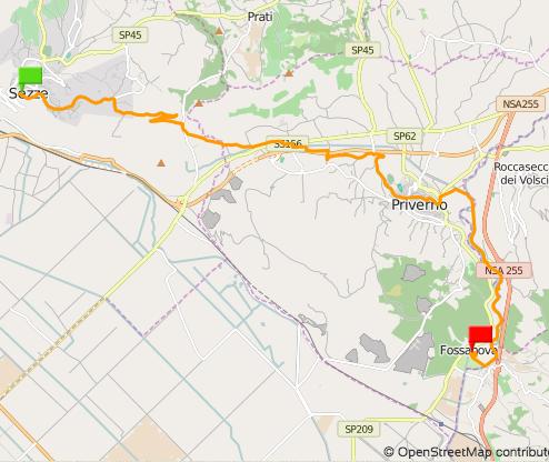 Via Francigena del Sud - Tappa 06 Sezze-Fossanova