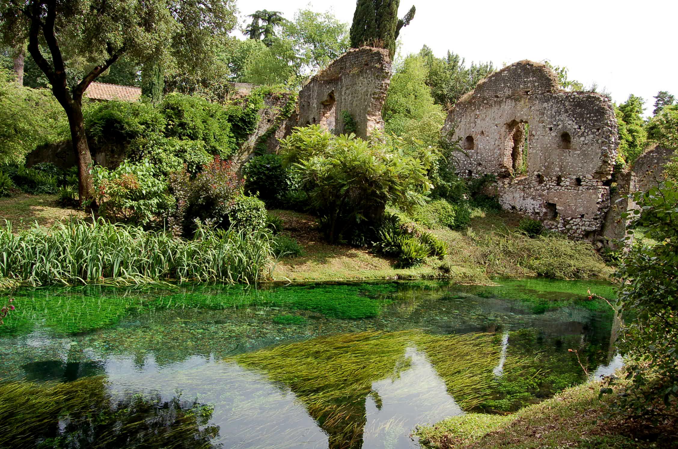 Itinerario Giardini di Ninfa Cori