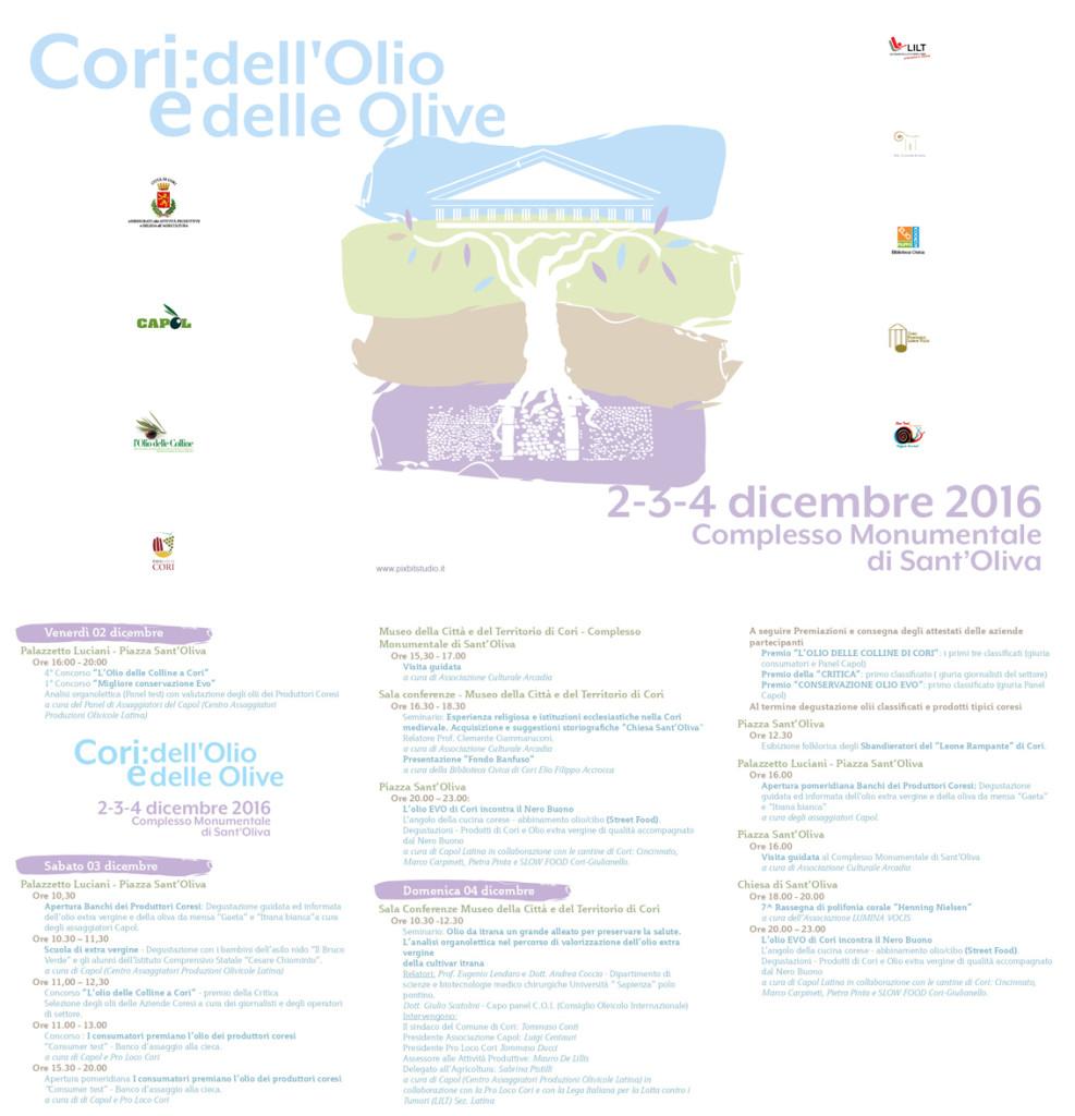 Programma Cori dell'olio e delle olive
